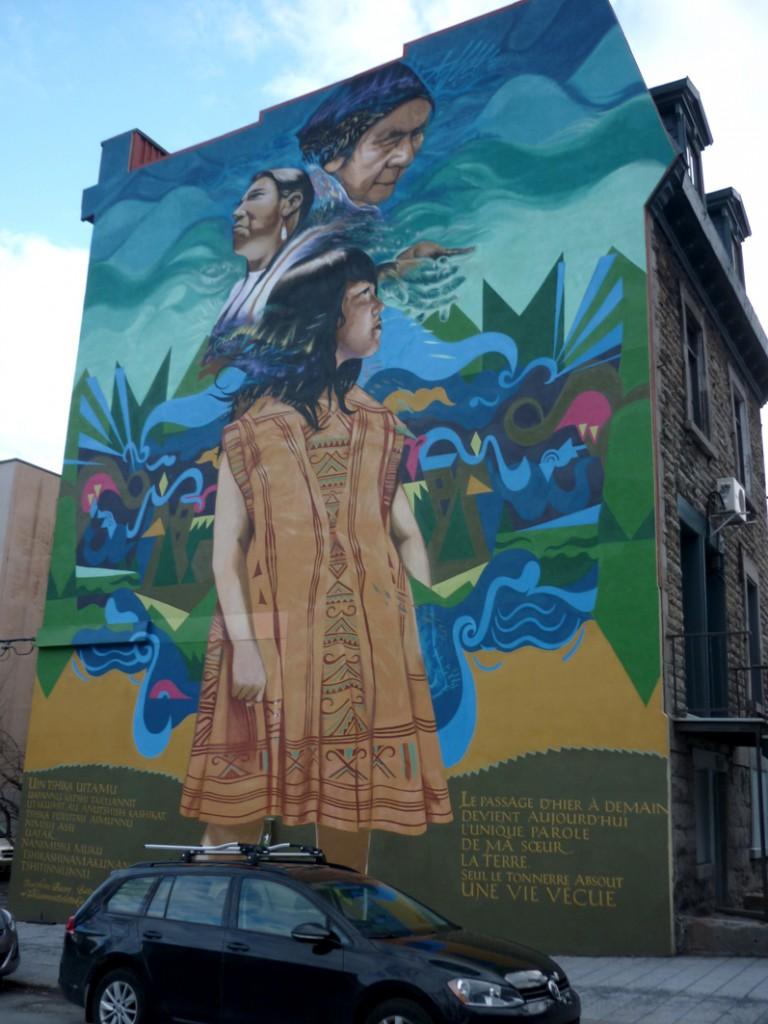 Graff non loin de Berry Uqam - Montréal - 13 avril 2016
